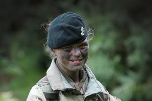 Army cadet enjoys summer camp action