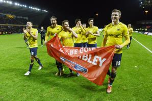 U's fans can pre-register for Wembley tickets